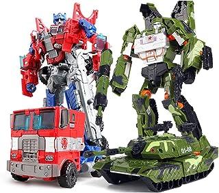 変身玩具キングコングカーボーイ合金モデルトラックロボット6歳以上(タンク)