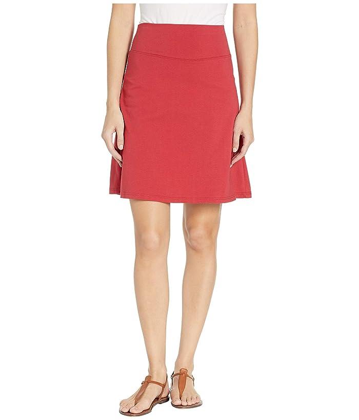 FIG Clothing Bel Skirt (Cranberry) Women