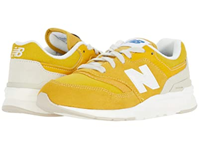 New Balance Kids 997H (Little Kid) (Varsity Gold/Sea Salt) Boys Shoes
