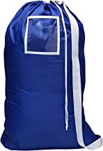 (Royal Blue) - Carry Laundry Bag From Handy Laundry with Shoulder Strap, Large Size 60cm X 90cm , Commercial Grade 100% Ny...