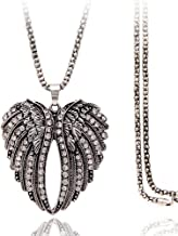 Best long angel wing necklace Reviews