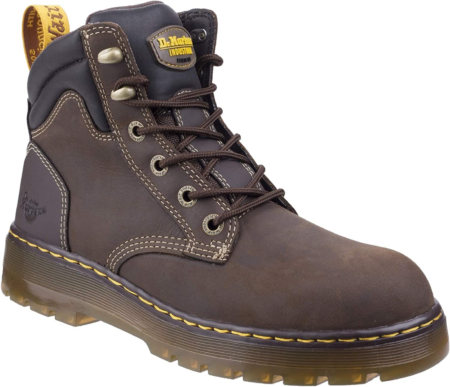 Dr. Martens Mens Brace Hiking Style Safety Boot