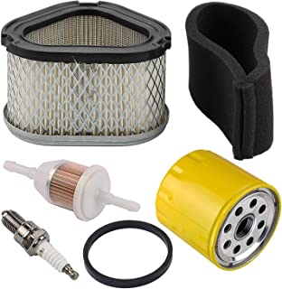 Welsking M92359 Air Filter fit John Deere GY20574 STX30 STX38 STX46 LX173 LX172 LX176 LX178 CV15T G15 LT133 Scotts S1642 SST15 Lawn Tractor Oil Filter Tune Up Kit