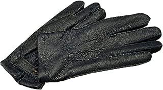 DENTS(デンツ) 15-1564B [ ネイビー / NAVY ] ペッカリー ( 猪豚革 ) レザーグローブ(革手袋) [並行輸入品]