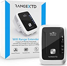 RANGEXTD WiFi Range Extender - WiFi Booster to Extend Range of WiFi Internet Connection | WiFi Signal Booster for Up to 10...