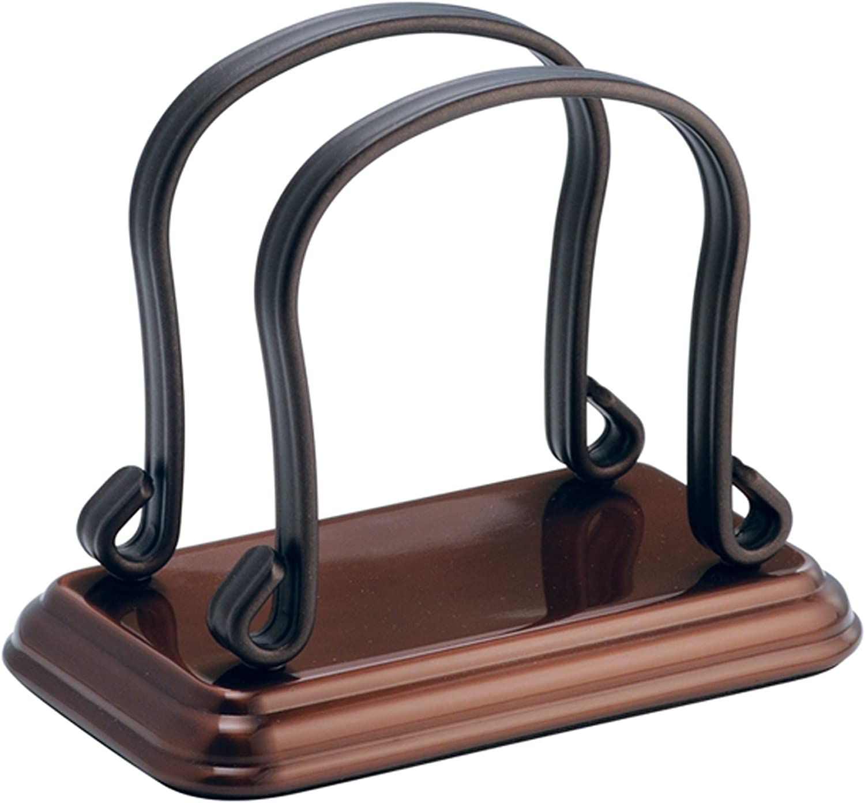InterDesign NEW before selling York Lyra Holder Bronze SALENEW very popular! Napkin