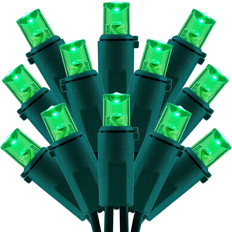 Green Wide Angle LED Christmas Lights 200 UL Certifie Over item handling ☆ Selling rankings Ft 66