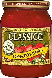 Classico Fresh No Sugar Added Tomato & Basil Pasta Sauce (14 oz Jar)