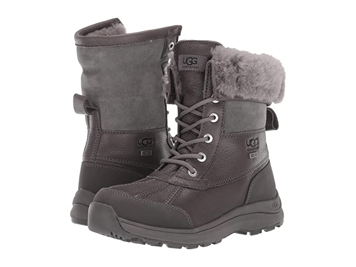UGG Adirondack Boot III (Charcoal) Women's Cold Weather Boots