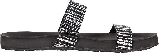 Black Stripe Fabric