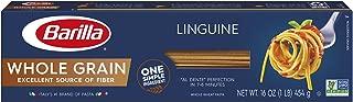 Barilla Whole Grain Pasta, Linguine, 16 Ounce (Pack of 12)