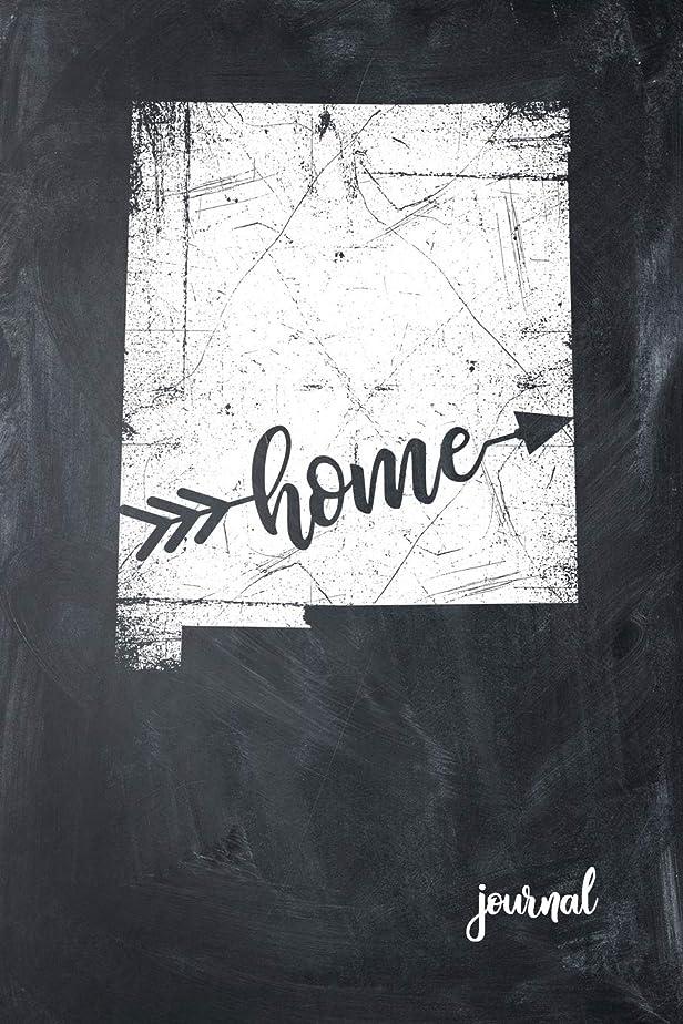 友だち秀でる研磨Home Journal: State of New Mexico Gypsy Arrow Home Blank Diary 120 Paged College Lined 6x9 RV Travel Journal