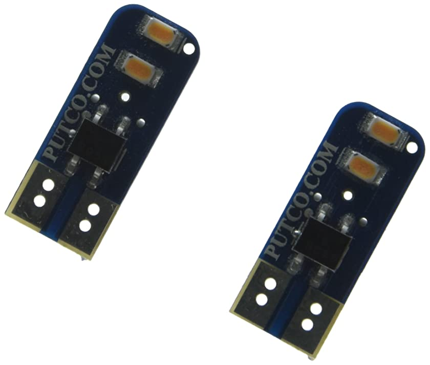 Putco 280002A Type B Amber LED Stick Bulb - Pair
