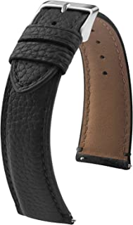 9 Colors for Quick Release Leather Watch Band, Fullmosa LitChic Genuine Leather Replacement Watch Strap with Stainless Met...