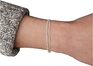 Best simple silver bracelet Reviews