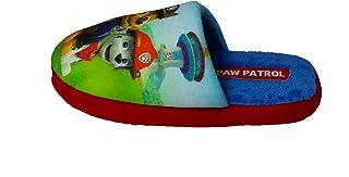 Paw Patrol - Zapatillas de Estar por casa de Terciopelo para niño Azul Azul