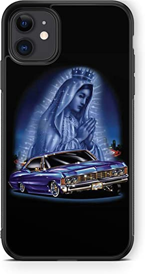 407Case Compatible with iPhone XR Lowrider Rubber Protective Phone Case Chevy Impala (iPhone XR)