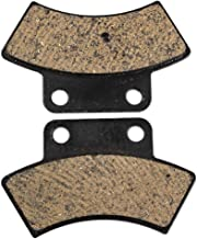 NICHE Rear Center Brake Pad Set For Polaris Sportsman Scrambler 500 400 2200899 2200464 Organic