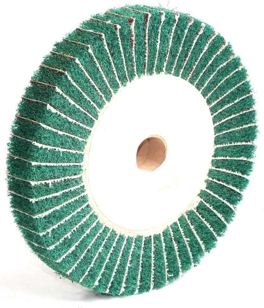 1Pc Omaha Mall Non-woven 1 year warranty Scouring Pad 4 5 6 12 Grinding 10 Wheel Mop inch 8