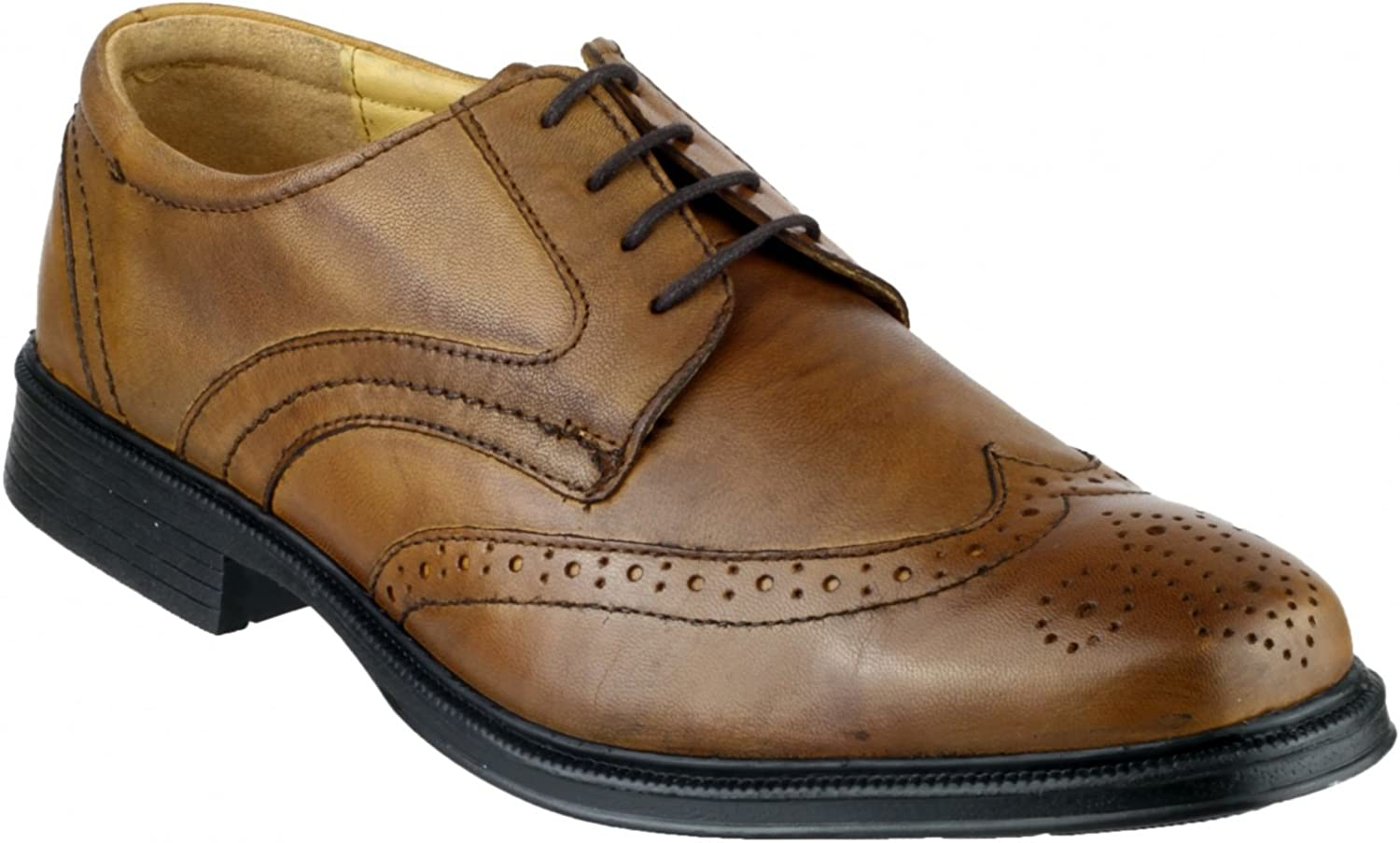 Cotswold Mickleton Lace Gibson Mens shoes (10 UK) (Tan)