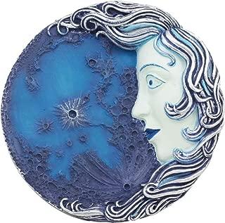 Ebros Luna Selene Moon Goddess Decor Wall Plaque 5.25