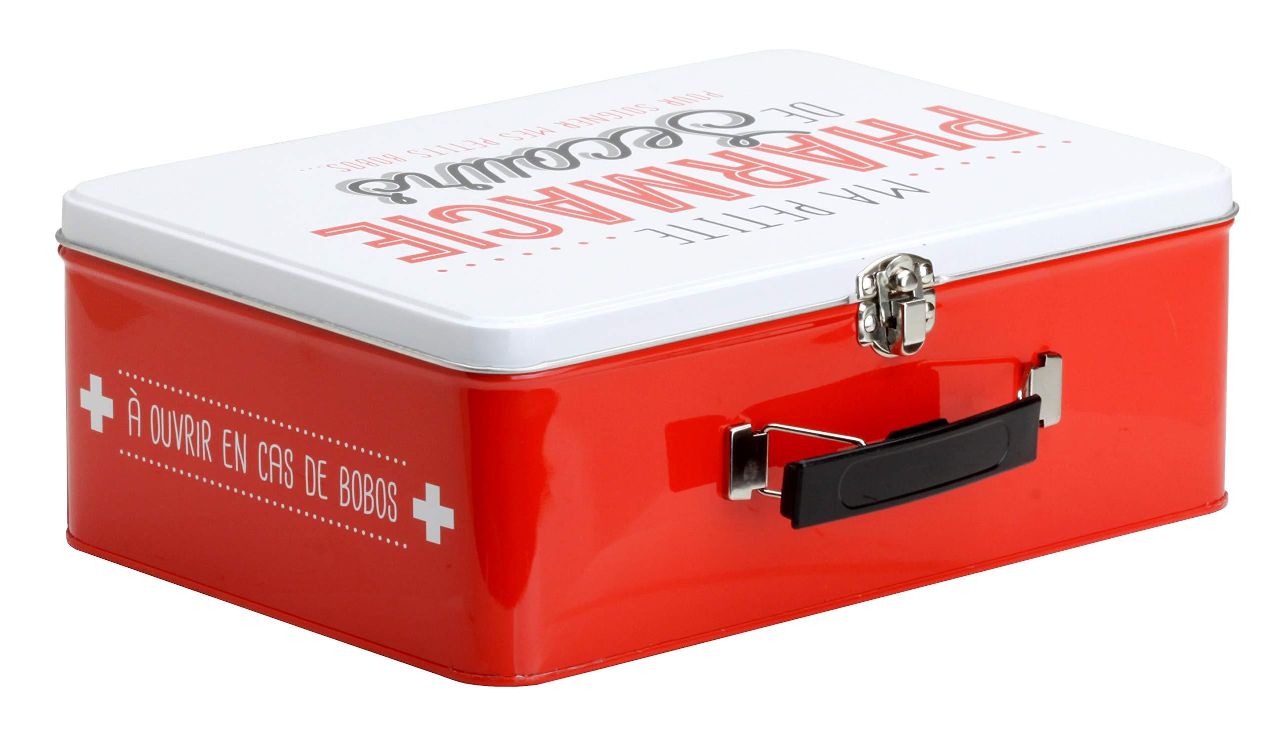 LA BOITE A BT6630 Caja Metálica con Texto en francés Pharmacie ...