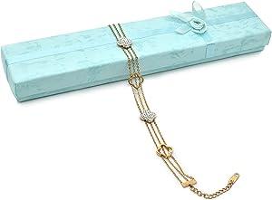 J&M Charm Bracelet for Women Rose Gold