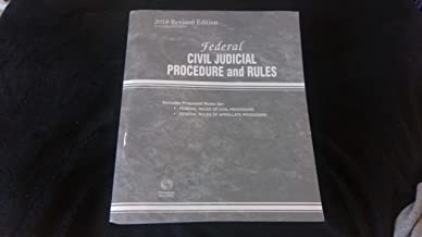 2018 Revised Federal Civil Judicial Procedure and Rules