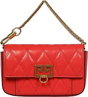 Luxury Fashion   Givenchy Womens BB604DB08Z669 Red Clutch   Fall Winter 19