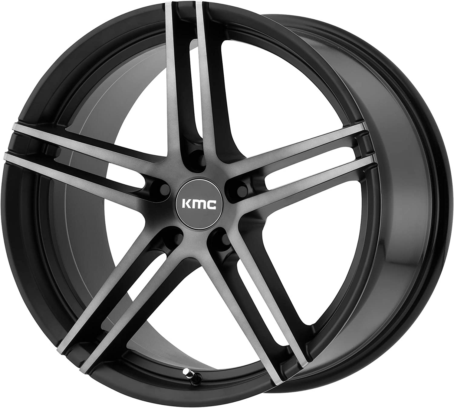 KM703 19X9.5 Beauty products 5X112 S-BLK In a popularity TITAN FACE RIM 45MM TOTAL 1 of