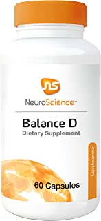 NeuroScience Balance D - Dopamine Support Supplement to Support Mood, Appetite Control, Memory + Clarity - Brain Health Su...