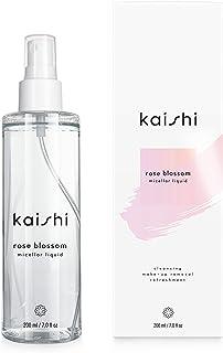 Kaishi - Solución micelar Rose Blossom, con el pH perfecto para refrescar y purificar la piel, 200 ml