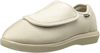 Propet Women's Cush 'N Foot Slipper, Sand, 6 Narrow