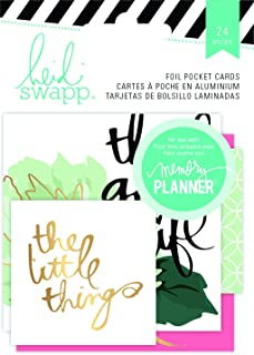 Heidi Swapp Hello Beautiful Foil Pocket Cards