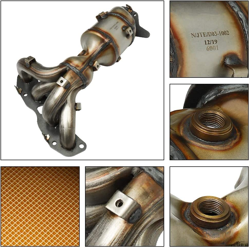 EPA Compliant MAYASAF Exhaust Manifold Catalytic Converter w//Gasket Kit for Nissan Altima 2.5L 2007 08 09 10 11 12 13