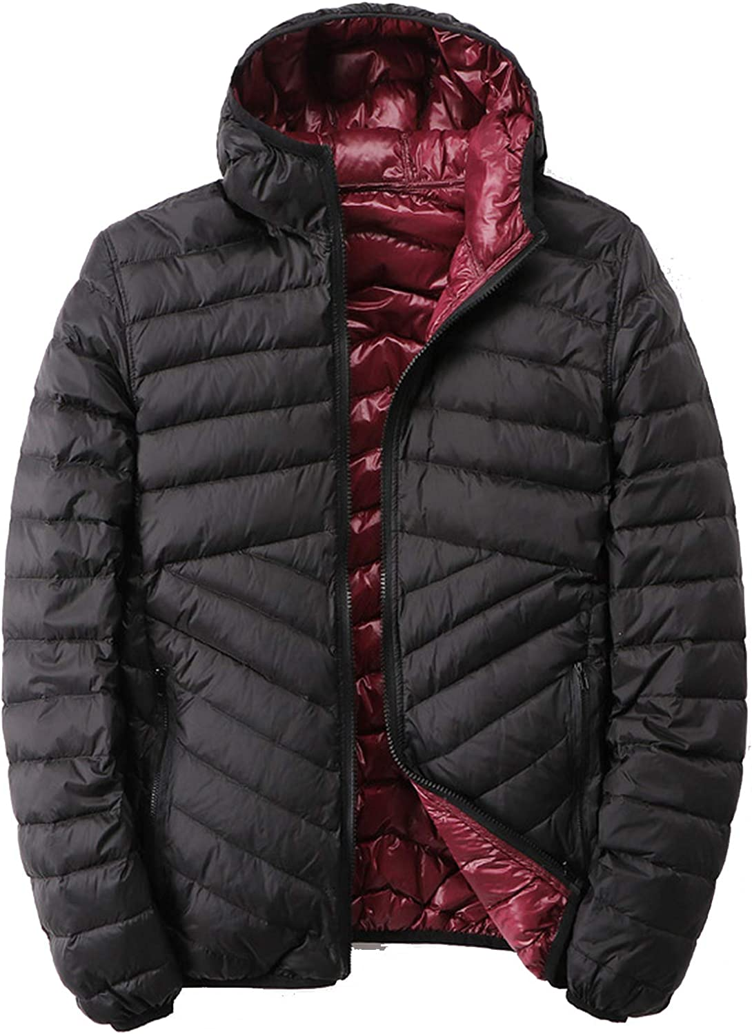 Men'S Down Jacket Popular product Direct sale of manufacturer With Hooded Puffer Reversible Ultra Light