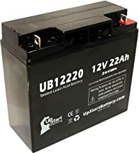 Sears Craftsman Diehard Portable Power 1150 Battery - Replacement UB12220 Universal Sealed Lead Acid Battery (12V, 22Ah, 22000mAh, T4 Terminal, AGM, SLA) - Compatible with Sears Craftsman Diehard Port