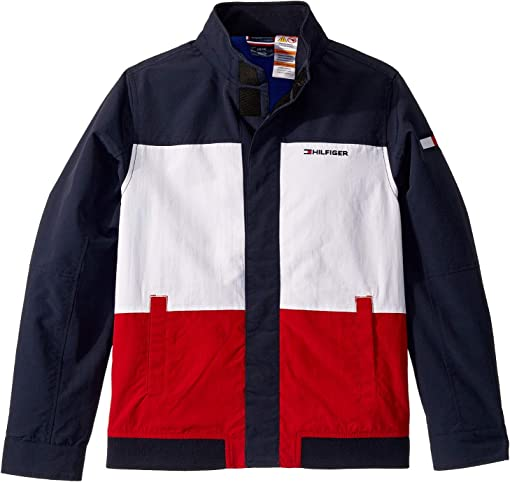 Navy Blazer/Bright White/Apple Red