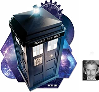 Fan Pack - The Tardis from Doctor Who Wall Mounted 3D Effect Cardboard Cutout - Includes 8x10 Star Photo
