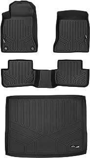 MAXLINER Floor Mats 2 Rows and Cargo Liner Black for 2015-2018 Mercedes Benz GLA
