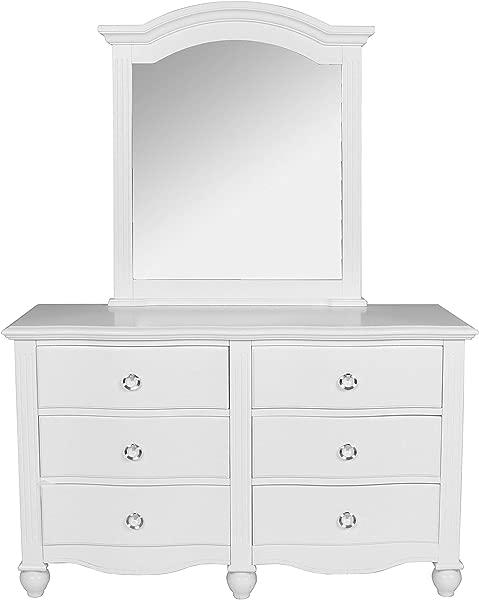 New Classic Furniture 05 621 052 Victoria Youth Dresser White
