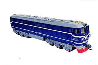 Emob High Quality Battery Operated Moving Train Toy with Realistic Light and Sound