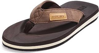 7d0c0130b679 FITORY Men s Flip-Flop Thong Sandals Light Weight Beach Slippers Size ...