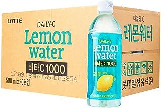 Lotte Daily-C Lemon Water - Case, 20 x 500ml