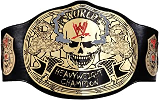 WWE AUTHENTIC WEAR Stone Cold Smoking Skull Championship Replica Title Belt Black