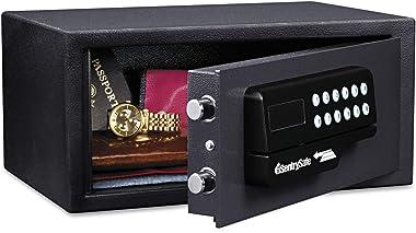 SentrySafe H060ES Digital Lock Safe, 0.4cu.ft, Black