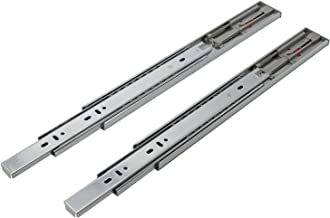 Probrico 14in Full Extension Heavy Duty Push-to-Open Ball Bearing Cabinet Drawer Slides, 1 Pair