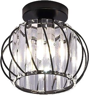Hudi Fyier Luminaires de plafond à cristaux, petit plafonnier à encastrer à LED pour cuisine couloir salles à manger salon...