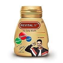 Revital H for Men with Multivitamins, Calcium, Zinc & Natural Ginseng