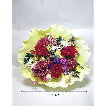 almaflor Ramo de Rosas eternas Rojas y Flores preservadas. Gratis ...
